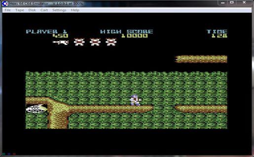 Hoxs64 emulator
