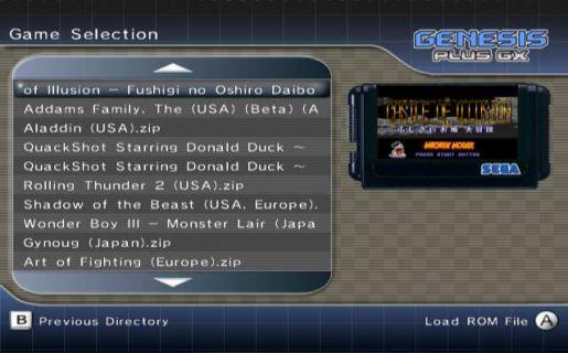 PicoDrive emulator