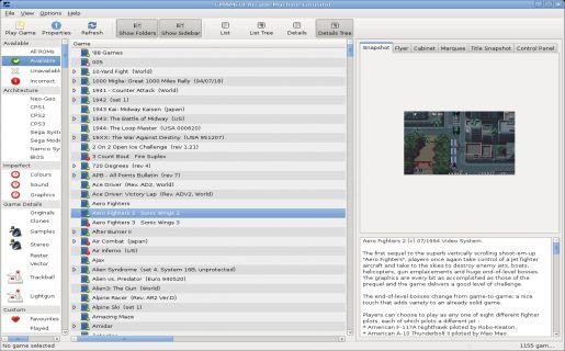 GMAMEUI emulator