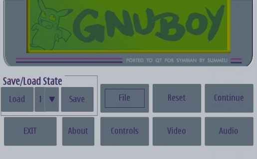 gnuboy4Symbian emulator