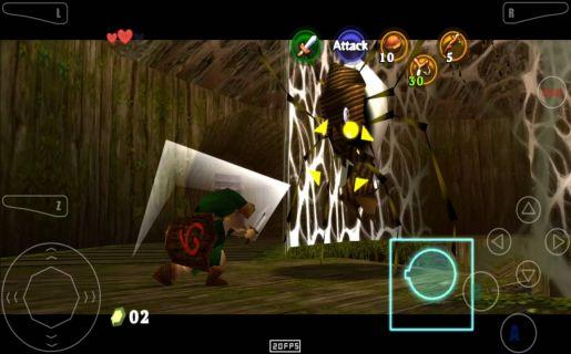Mupen64Plus FZ emulator