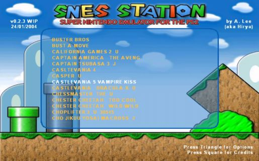 SNES-Station emulator