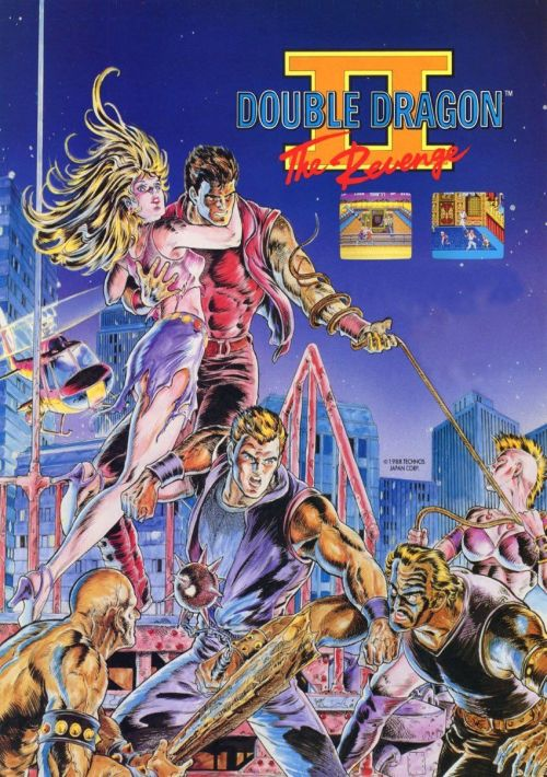 Double Dragon 2 The Revenge J Rom Free Download For Nes Consoleroms