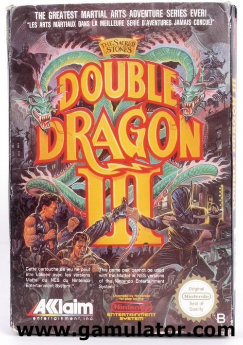 Double Dragon Iii The Sacred Stones Rom Free Download For Nes Consoleroms