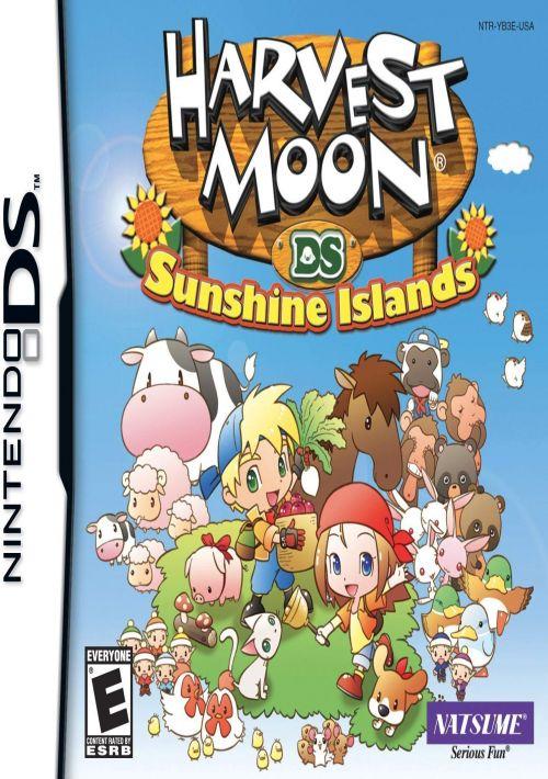 harvest moon ds  sunshine islands eu rom free download