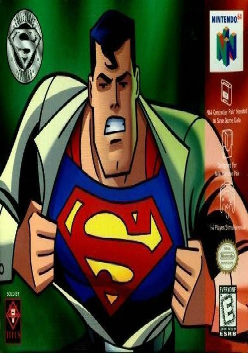 Superman ROM Free Download for N64 - ConsoleRoms