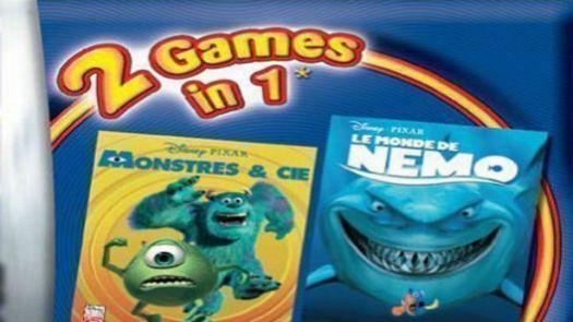 2 In 1 - Monstres & Cie & Le Monde De Nemo (F)