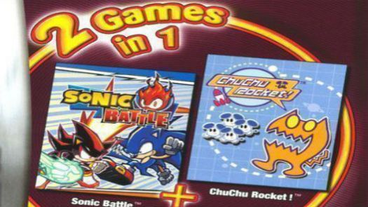 2 In 1 - Sonic Battle & ChuChu Rocket! (E)