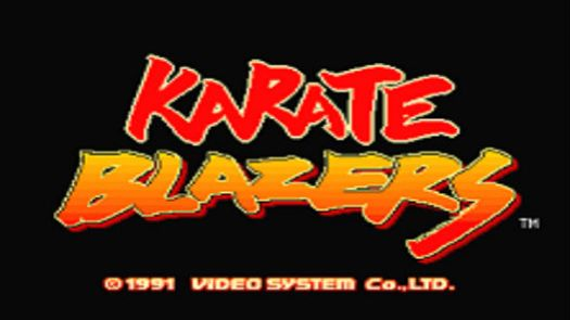 Karate Blazers (World, set 1)