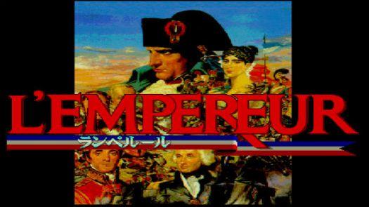 L'Empereur (19xx)(Koei)(Disk 3 Of 3)(Disk C)