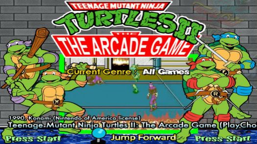 Teenage Mutant Ninja Turtles (Oceania 2 Players)