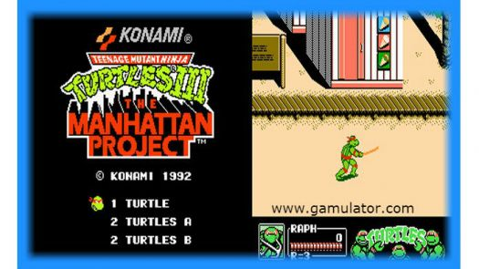 TMNT III - The Manhattan Project