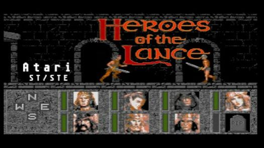 Advanced Dungeons & Dragons - Heroes Of The Lance - A DragonLance Action Game