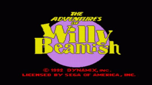 Adventures Of Willy Beamish, The (U)