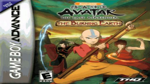 Avatar - The Legend Of Aang - The Burning Earth (Sir VG)
