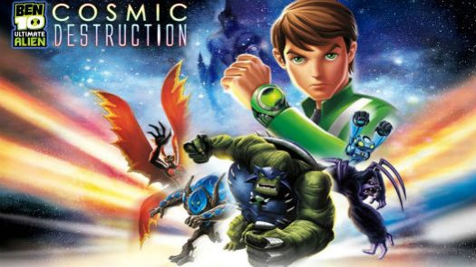 Ben 10 - Ultimate Alien - Cosmic Destruction (E)
