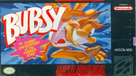 Bubsy In Claws Encounters Of The Furred Kind (EU)