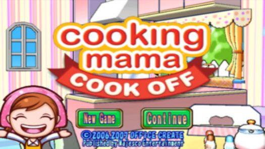 Cooking Mama (E)(FireX)