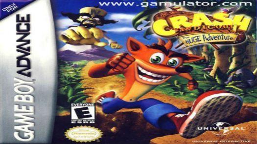 Crash Bandicoot - The Wrath Of Cortex GBA