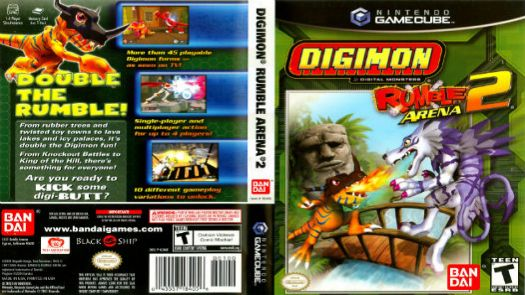 Digimon Rumble Arena 2 (E)