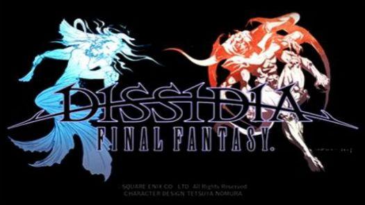 Dissidia - Final Fantasy (Asia)