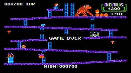 Donkey Kong (1983)(Atari)