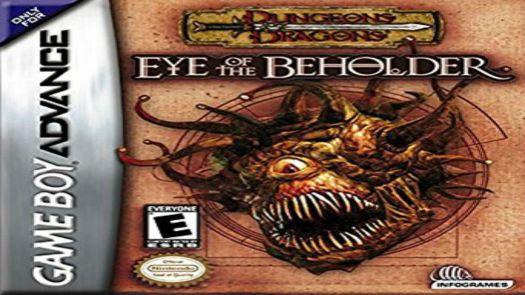 Dungeons And Dragons - Eye Of The Beholder (EU)