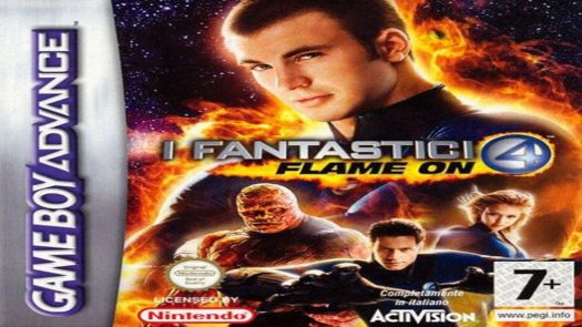 Fantastic 4 - Flame On (EU)