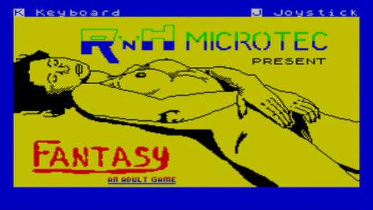 Fantasy - An Adult Game