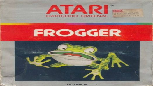 Frogger (Official Version By Sega) (1982) (Starpath)