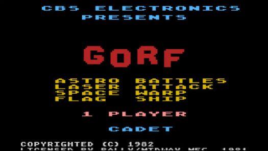 Gorf (1982) (CBS)