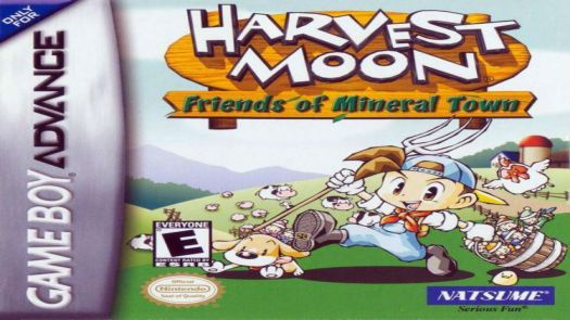Harvest Moon - Friends Of Mineral Town (GBA) (EU)