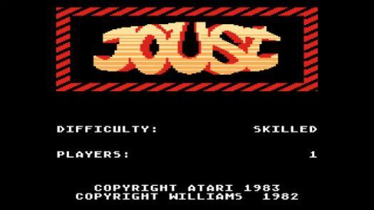 Joust (1983-84) (Atari)