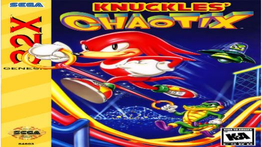 Knuckles' Chaotix