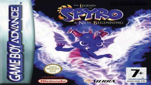 Legend Of Spyro, The - A New Beginning (EU)