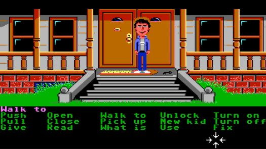 Maniac Mansion (Floppy DOS v2 Enhanced) Game