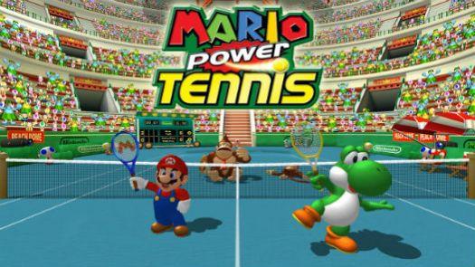 Mario Power Tennis (E)