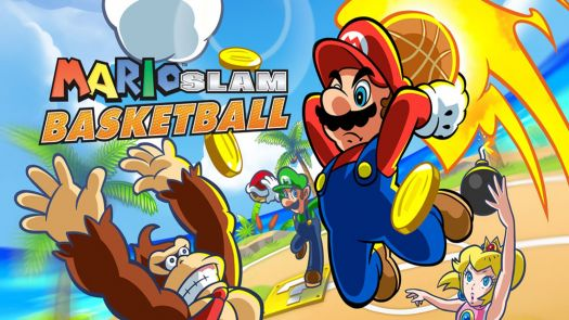 Mario Slam Basketball (FireX) (EU)