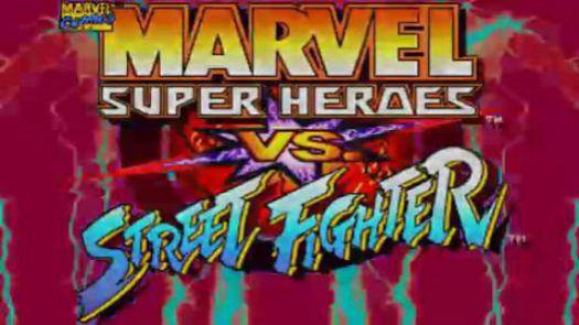 MARVEL SUPER HEROES VS. STREET FIGHTER (EUROPE)
