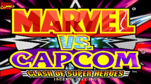 Marvel Vs. Capcom Clash of Super Heroes (Asia 980112)