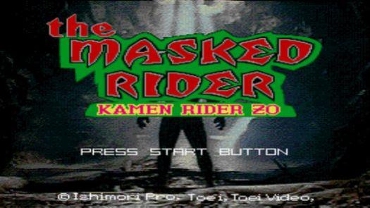 Masked Rider, The - Kamen Rider ZO (U)