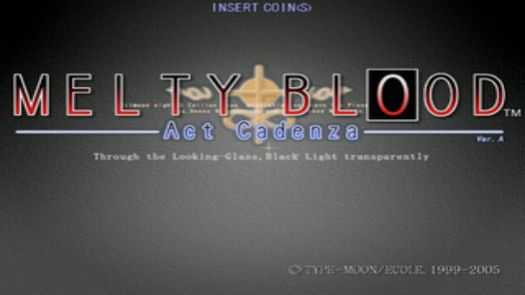 Melty Blood Act Cadenza ver b