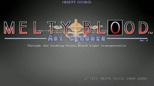 Melty Blood Act Cadenza vb2