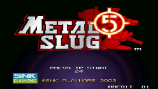 Metal Slug 5 Plus
