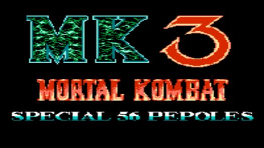 Mortal Kombat 3 - Special 56 Peoples