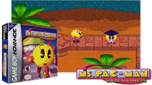 Ms. Pac-Man Maze Madness (E)