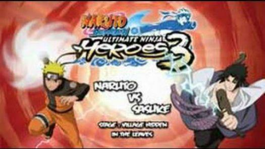 Naruto Shippuden - Ultimate Ninja Heroes 3