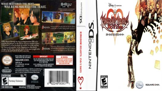 Kingdom Hearts - 358-2 Days (US)