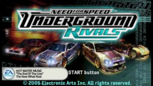 Need for Speed - Underground Rivals (Europe)