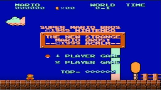New Strange Mario Bros (SMB1 Hack)